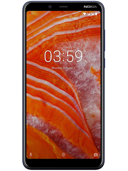 Перейти на Алиэкспресс и купить Nokia phone 3,1 Plus, синий цвет (синий), 32 Гб встроенной памяти, 3 Гб оперативной памяти, две sim-карты, экран 6 дюймDu