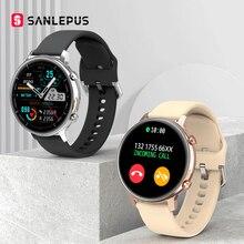 2021 SANLEPUS Đồng Hồ Thông Minh Mặt Quay Số Gọi MP3 Nhạc Đồng Hồ Thông Minh Smartwatch Nam Nữ Chống Thấm Nước Đồng Hồ Vòng Tay Thể Thao Dành Cho Android Apple