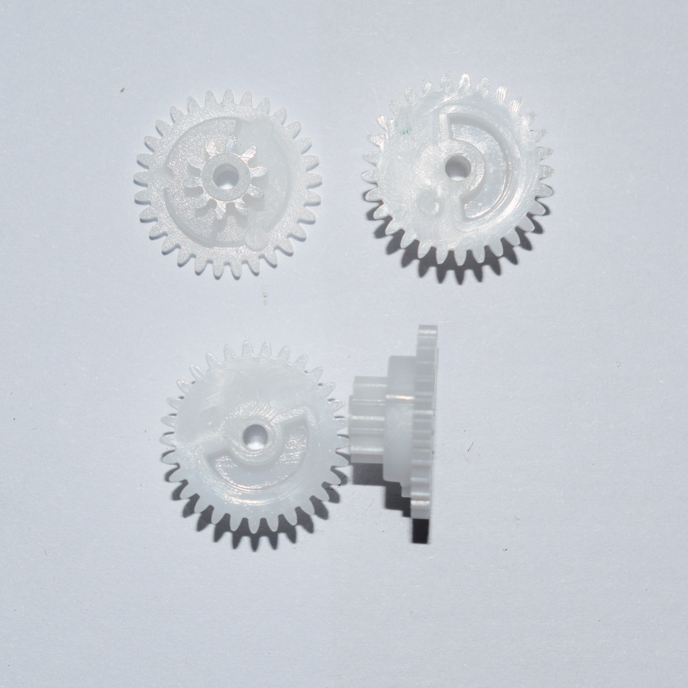 29102B Plastic Double-deck Motor Clutch Gear 29+10 Tooth  Toy Fittings Scientific And Technological Model Fittings