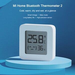 Image 5 - Xiaomi Mijia 온도계 2 블루투스 스마트 습도계 Mijia LCD 스마트 홈이있는 무선 전기 디지털 온도계 습도계