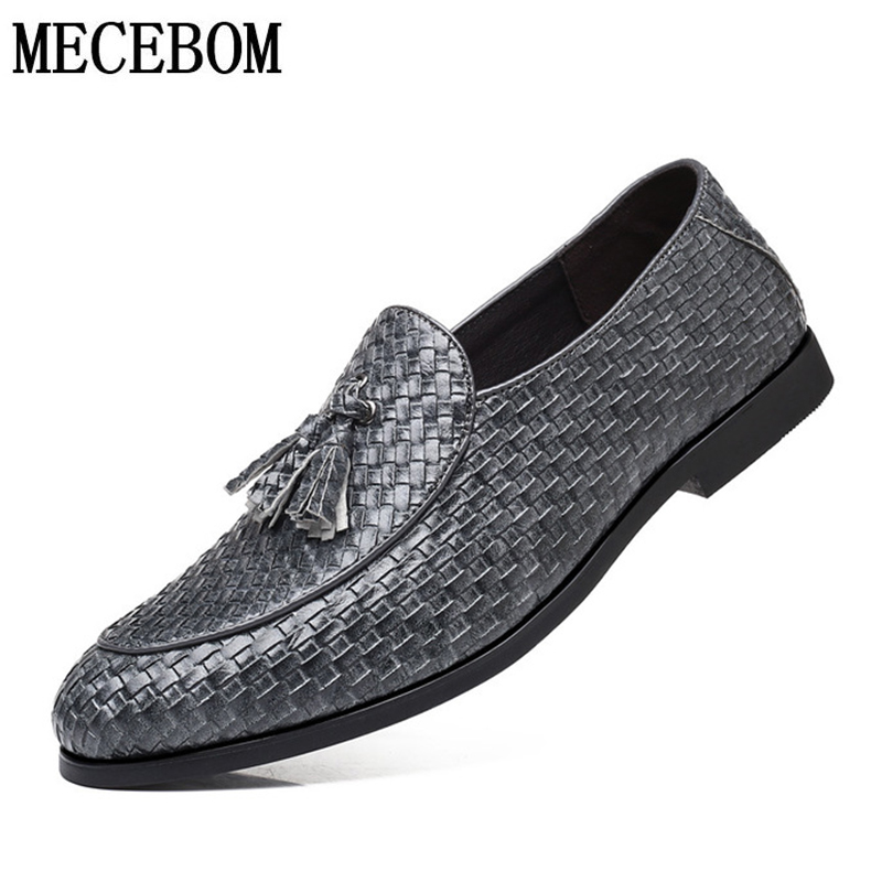 Buy Men's Loafers Shoes Quality Leather Driving Shoes Big Size 38-48 Boat Shoes British Style Tassel Lazy Shoes Moccasin Men  Shoes