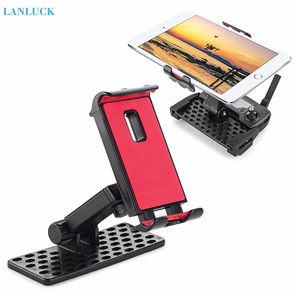 4.7-9.7inch Extended Holder Tablet Clamp For DJI Mavic Pro Air Spark Mavic2 Zoom Drone Remote Control Monitor Mount Bracket