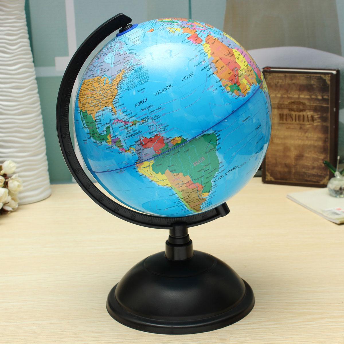 20cm World Map Foam Ball Atlas Globe English Ball Planet Earth Ball Toys for Kids Girls boys Geography Educational Supplies