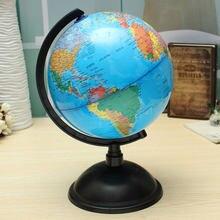 Bola de espuma para crianças, 20cm mapa mundi atlas globe bola inglês planeta terra bola brinquedos para crianças meninos meninas geográfica educativa suprimentos