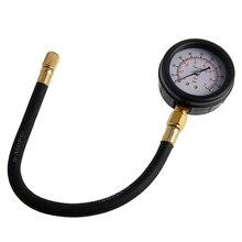 Автомобильный топливный насос тестер инжектор испытательный манометр диагностический набор инструмента LX9C