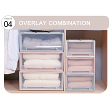 Storage Box Case Organizers Drawer Portable Stackable for Bra Clothes Wardrobe LB88