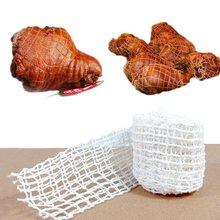 1/3 medidor de carne de algodão net presunto salsicha rolo net cachorro quente net butcher cordas salsicha ferramentas de embalagem cozinha carne cozinhar ferramenta