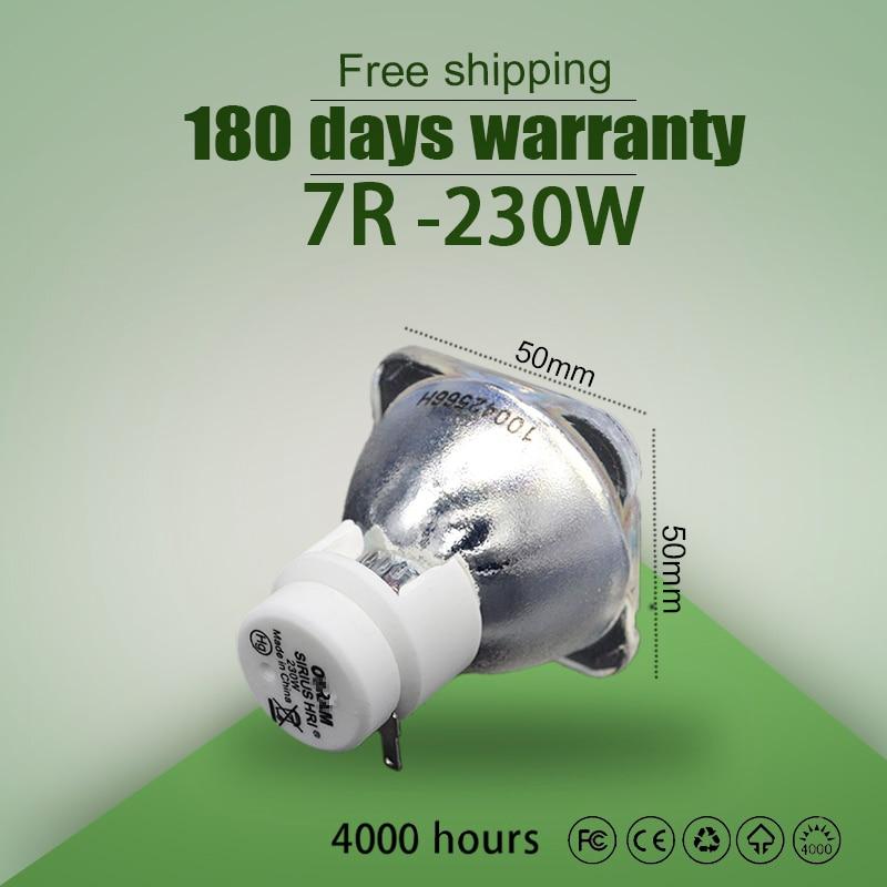 Kaita High Quality 7R 230W Lamp Moving Beam P-VIP 230/1.0 E20.8 For Osram 100% New Compatible Beam Lamp Bulb