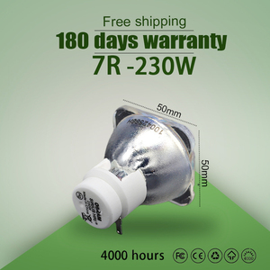 Image 1 - kaita High quality 7R 230W lamp moving beam P VIP 230/1.0 E20.8 for osram 100% new Compatible beam lamp bulb