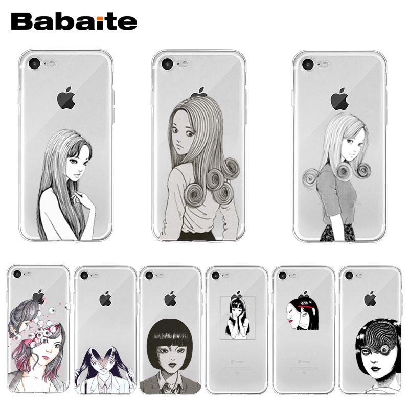Japanese Horror Comic Tomie Junji Itou Phone Case Cover For Iphone 11 Pro Xs Max Xr 8 7 6 6s Plus X 5 5s Se 12 Mini 12promax Phone Case Covers Aliexpress