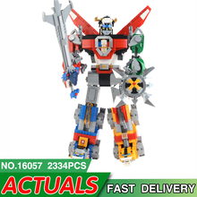 LegoDES Ideas Compatible with 21311 Voltron Defender of The Universe Model Building Block Bricks Educational Toys For Kids Gifts