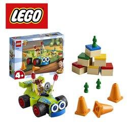 2019 lego disney pixar brinquedo história 4 woody & rc 10766 construção kit lego ninjago duplo marvel blocos de construção diy brinquedo educacional