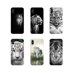 Аксессуары, чехол для телефона, чехлы с белым тигровым животным для Xiaomi Mi4 Mi5 Mi5S Mi6 Mi A1 A2 A3 5X 6X 8 CC 9 T Lite SE Pro