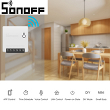 Sonoff MINI DIY APP Smart Remote Control Timer Schedule Voice Power-on Status DIY Mode Two Way Wifi Smart Switch Smart Home