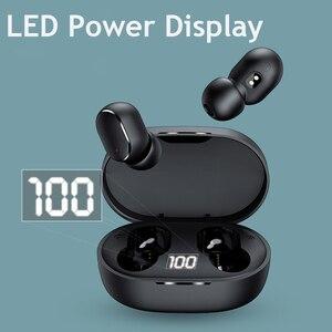 PJD TWS Bluetooth Kopfhörer Drahtlose Ohrhörer Für Xiaomi Redmi AirDots Noise Cancelling Headsets Mit Mic Freihändiger Kopfhörer