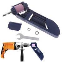 2-12.5Mm Portable Drill Bit Sharpener Corundum Grinding Wheel Portable Powered Tool For Drill Polishing