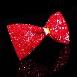 2020 Top Qualität herren Edle Diamant Bogen Krawatten Designer Marke Schmetterling fliege Shiny Romantische Hochzeit Bräutigam Fliege für Männer Rot