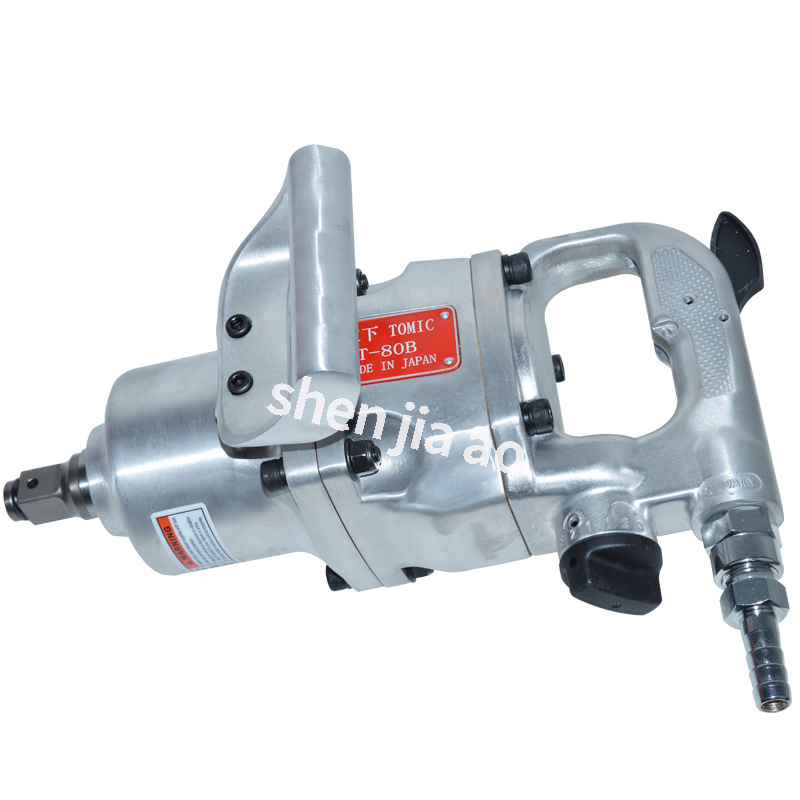 """1PC Pneumatic Wrench 1""""/ 3/4"""" Industrial grade Heavy Wind Guns Trigger Pneumatic Wrench Tools Handheld Pneumatic Wrench