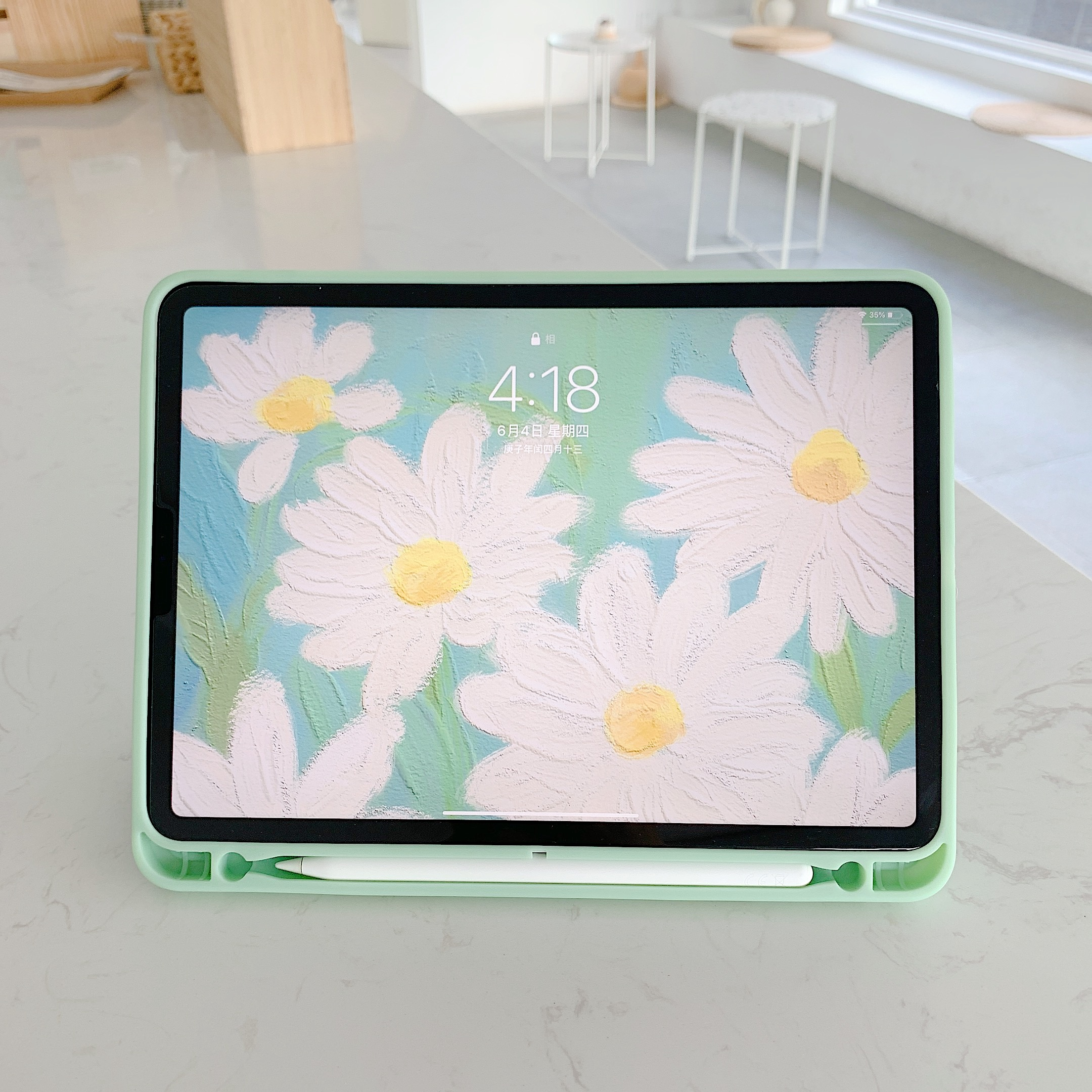 Daisy Flower  Case For Ipad Pro 2020 Air 3 Back Cover 4
