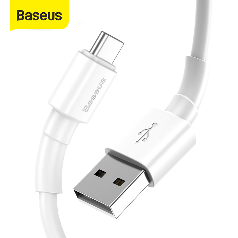Baseus USB Type C Cable For Samsung S9 S8 USB C Mirco Cable Mobile Phone For Xiaomi Charging Wire USB C Charger Cable Wire Cord