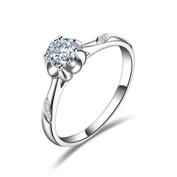 18k Gold And White Gold Rose Gold Gold Diamond Ring Platinum Wedding Diamond Ring Marry Couple Ring Genuine 1