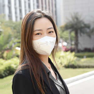 Image 2 - Youpin Airmotion One 5 Pcs Protective Face Mask Efficient Filtration Blocking Haze Dust Breathable Mouth Cover Face Mask