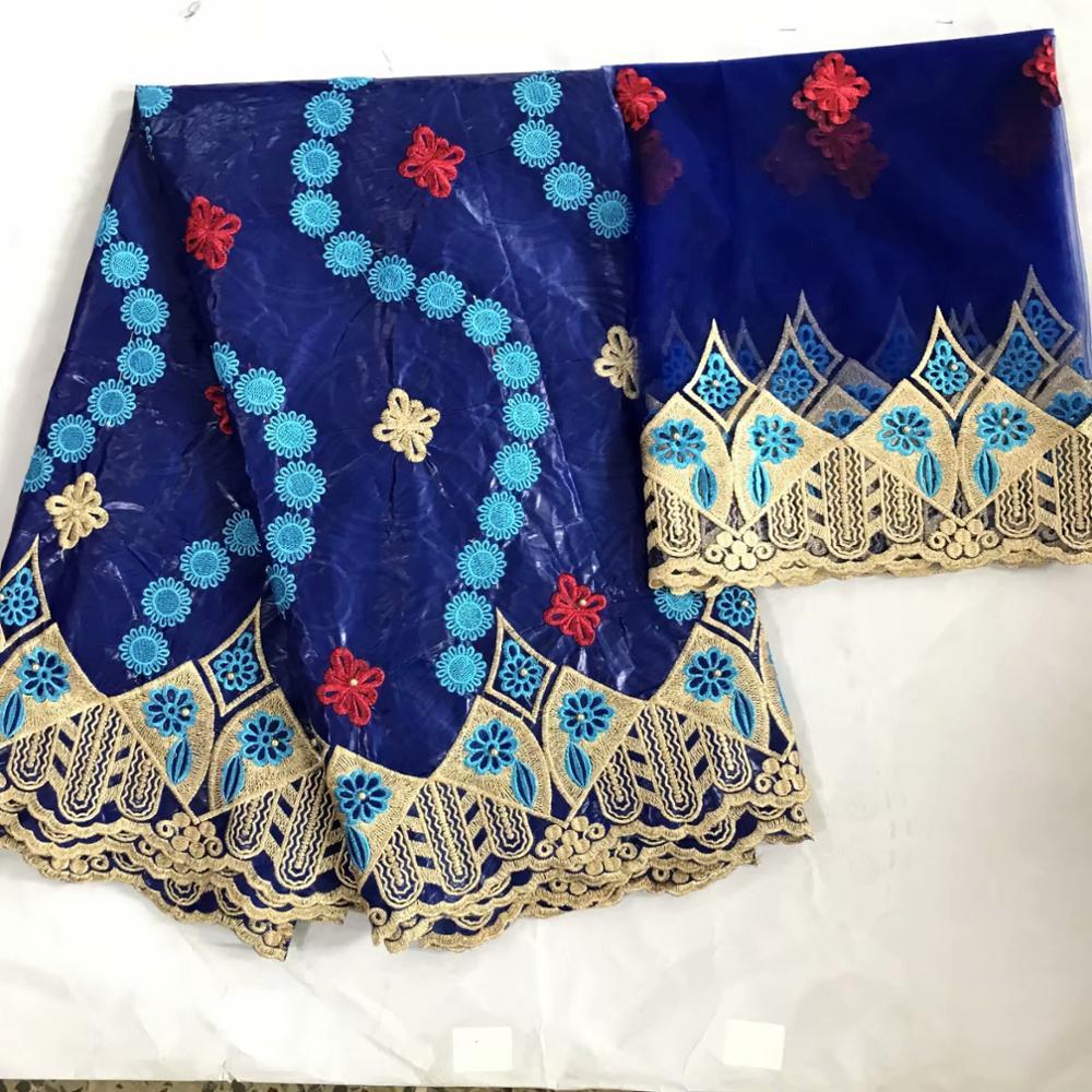 latest guinea brocade fabric bazin riche getzner 2020 high quality african bazin riche laec fabric 5+2 yard/lot