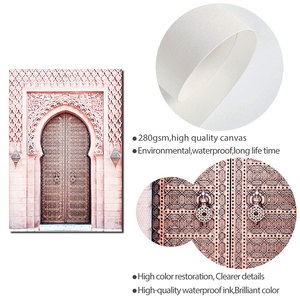 Image 5 - Carteles de Marruecos para sala de estar, póster Nórdico del Sahara, arte de pared islámico, pintura en lienzo moderna, imágenes de pared de moda, sin marco