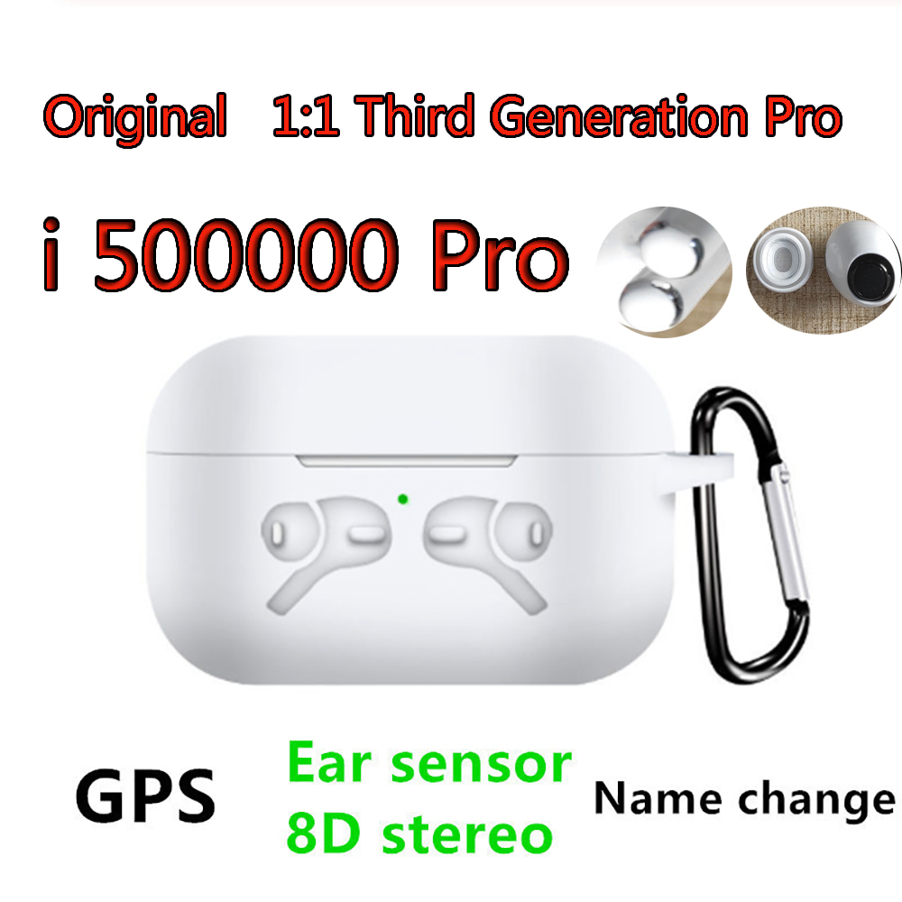 Original I500000 Pro 1: 1 Air 3 GPS Rename Wireless Bluetooth Headset PK  I9000 Pro I90000Max I9000 I5000 I200 I500 I200000Pro