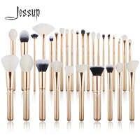Jessup brush Makeup brush set 6pcs-30pcs Golden / Rose Gold POWDER EYESHADOW CONCERLER foundation brush