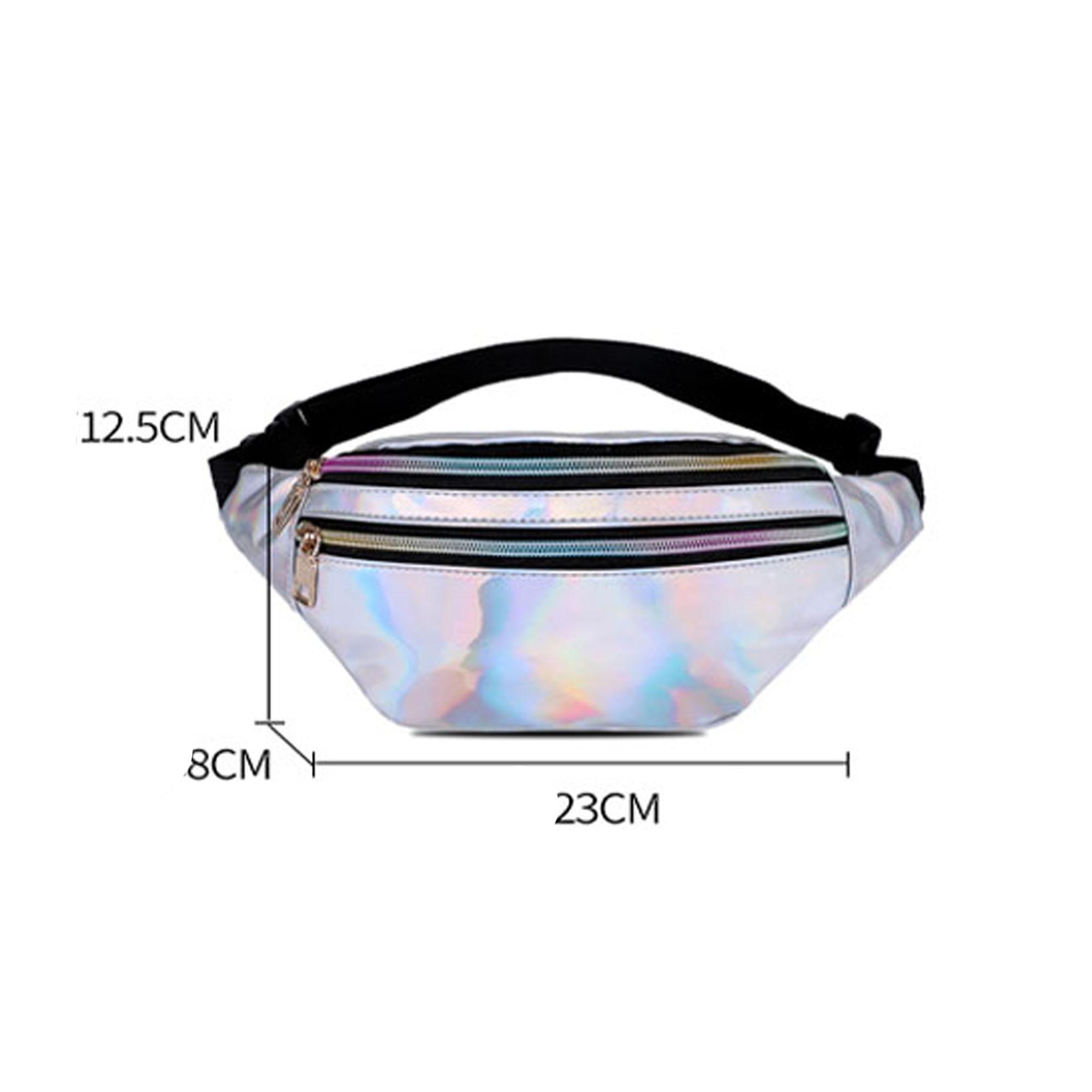 Women Girls Waist Fanny Pack Belt Bag Pouch Travel Hip Bum Bag Women Small Purse