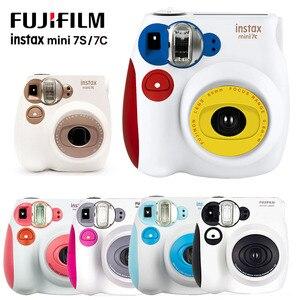 NEW Colorful Fuji Fujifilm Instax Mini 7C 7S Instant Camera Mini Film Photo Printing Snapshot Shooting Polaroid Camera Birthday