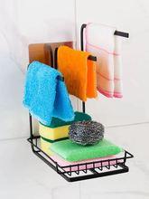 Губчатое полотенце подвесной стеллаж для хранения кухонной утвари
