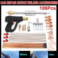 106Pcs Dent Puller Kit Car Body Dent Repair Device Welder Stud Weld Welding & Soldering Supplies Sheet Metal Equipment