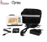 HOT SALE!!![Grandway Original]F2H Mini OTDR Fiber Optic , 26/24dB, 1310/1550nm, VFL , power meter, 5 inch Touch Screen SC/UPC