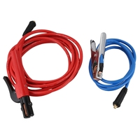 Welding Machine Accessories 200 Amp Electrode Holder 5M Cable+200 Amp Earth Clamp 2M Cable Both with Dkj10 25 Connector|Pliers| |  -