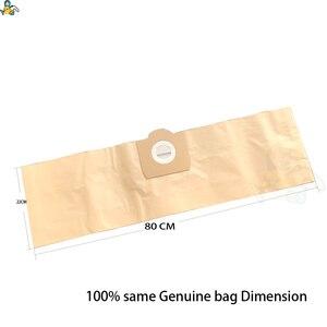 Image 2 - ผ้ากระเป๋าถุงกระดาษสำหรับ Karcher WD3 กระเป๋า WD3300 WD3.500P MV3 WD3200 SE4001 SE4002 6.959 130 Karcher ทำความสะอาดกระเป๋า