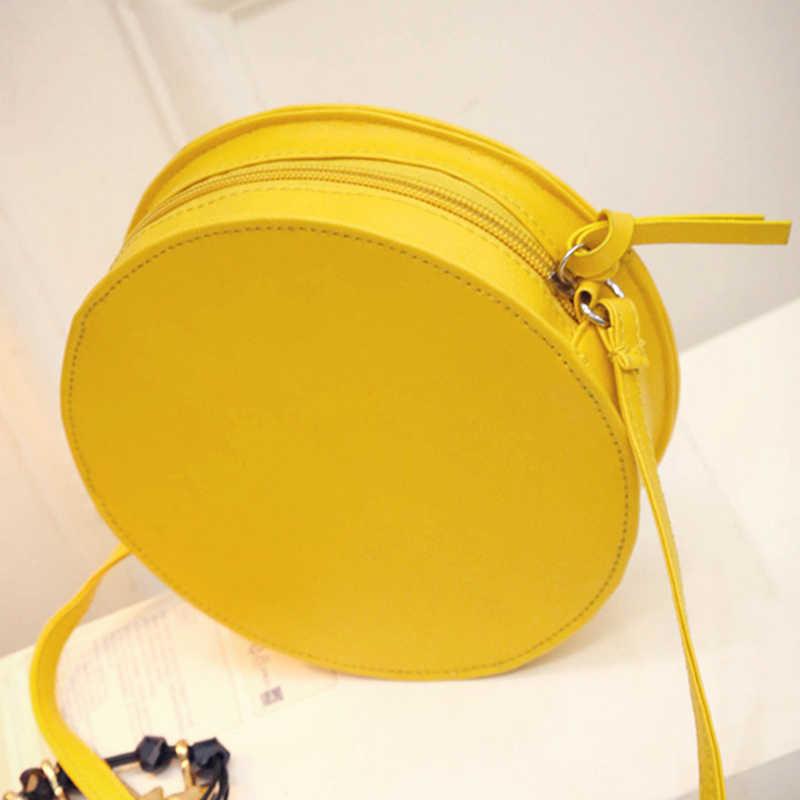 2020 circulaire Orange citron femmes sac sacoche à fermeture éclair bandoulière étanche sacs à main marque sac à main de créateur dame sacs à bandoulière