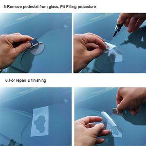 Image 3 - Schutz Aufkleber Für Chip Riss Bullseye Glas Reparatur Kit Auto Windschutzscheibe Automobil Auto Styling DIY Zubehör