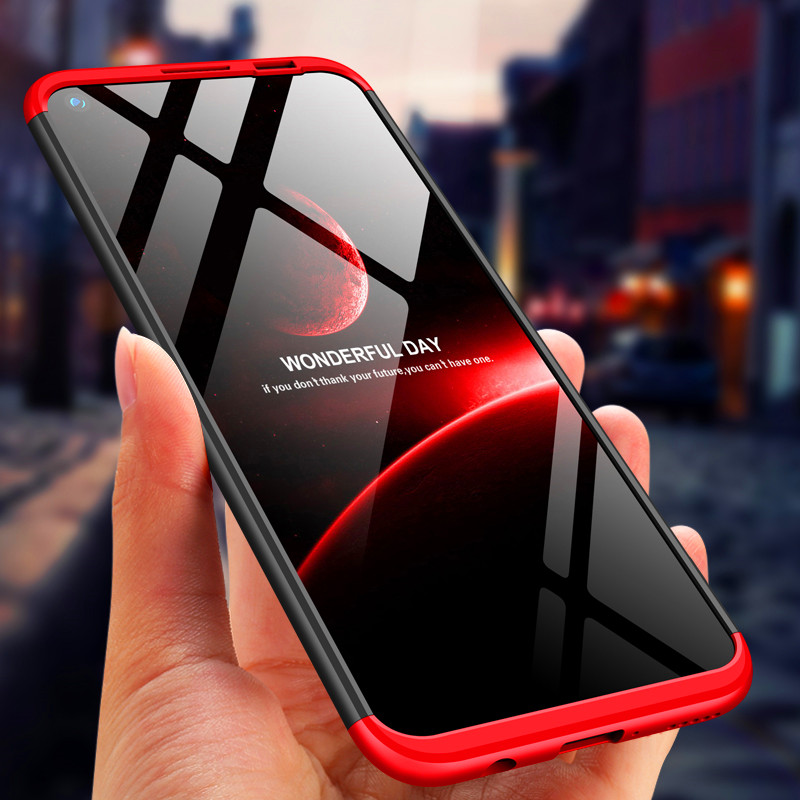 Redmi Note 8T 360 Case Colored 360 Protection Full Body Cover Matte Hard Phone Case For Xiaomi Redmi Note8T With Glass Protector