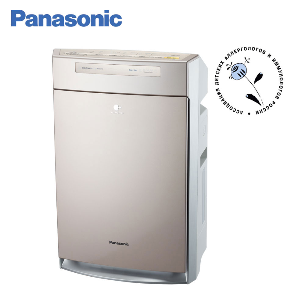 Air Purifiers Panasonic F-VXR50R-N Natural Sterilize Dusting HEPA Filter Humidification ECONAVI air-cleaning nanoe automatic