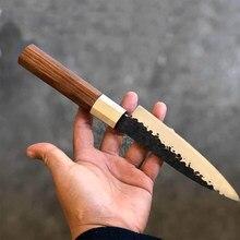 Fabricantes vendem damasco vg10 aço núcleo chef faca 6 polegada cozinha mini faca
