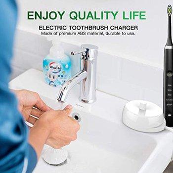 220V เปลี่ยนแปรงสีฟันไฟฟ้ารุ่น 3757 เหมาะสำหรับ Braun Oral-B D17 OC18 แปรงสีฟันชาร์จ Cradle