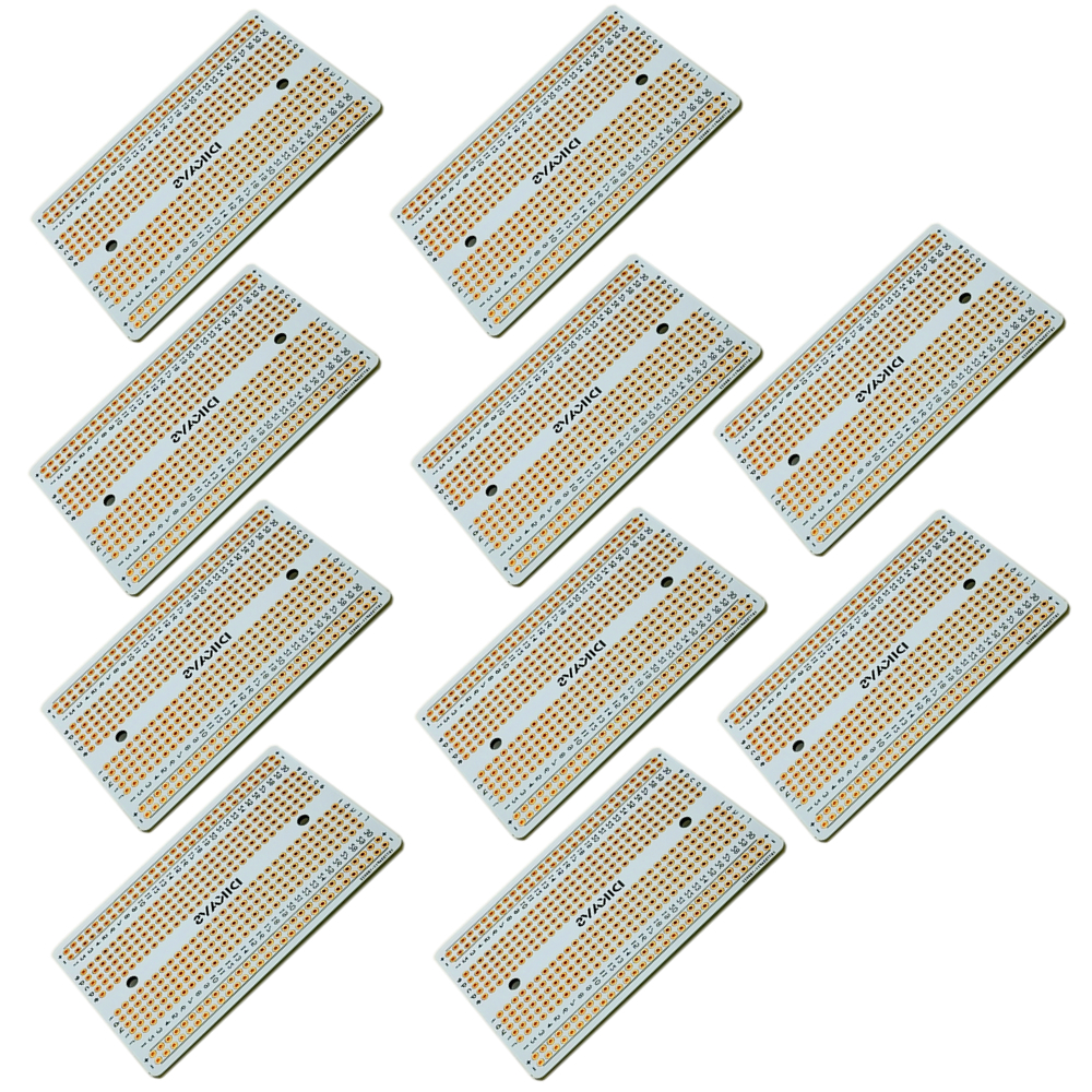 10PCS Double-sized Welding Breadboard  Prototype Board Pcb Board  Arduino Protoboard Pcb For Arduino