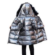 Rosyjska kurtka zimowa dla dzieci Parka dla chłopca ubrania odpinane futro z kapturem płaszcz wodoodporna nastoletnia odzież wierzchnia 6 8 10 12 13 14 lat tanie tanio OBOVATUS Mikrofibra COTTON 0 7KG CN (pochodzenie) Moda Stałe long Hooded HD69-1-78 Kurtki płaszcze zipper REGULAR Chłopcy