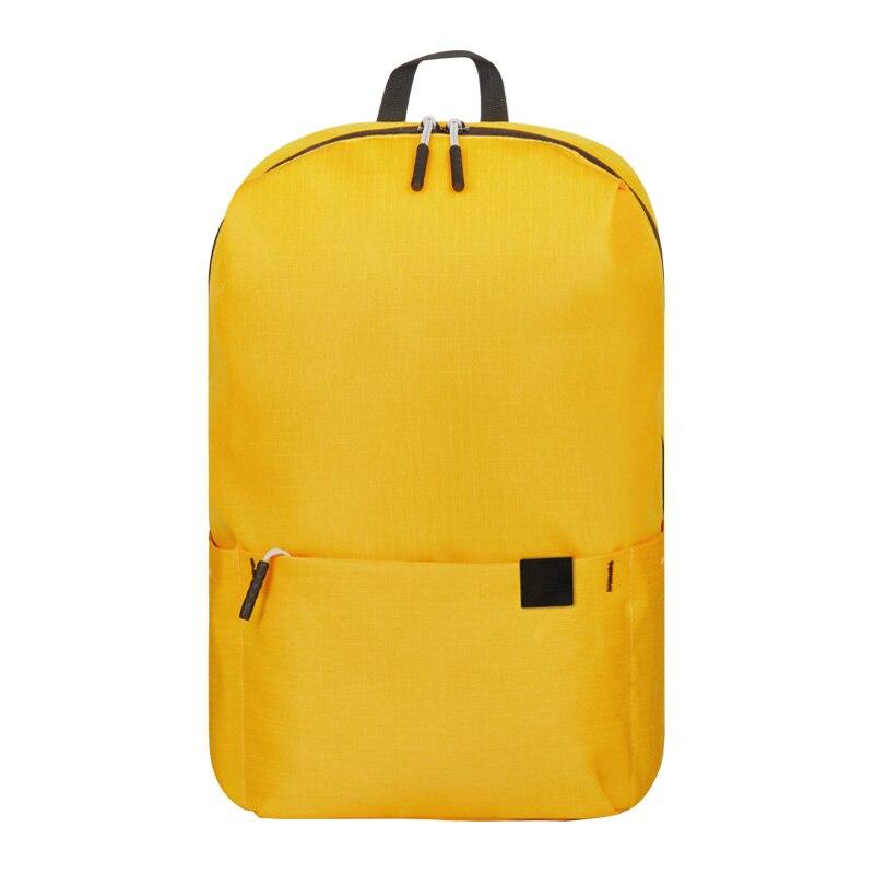Женский рюкзак для путешествий, рюкзак через плечо, сумка для милой девушки, водонепроницаемые, мульти-карманные сумки, повседневная Студенческая спортивная сумка, рюкзак для ноутбука - Цвет: PCKG yellow