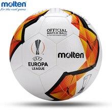 цена 2020 Football Ball Molten Official Size 4 Size 5 Soccer Ball Goal League Match Outdoor Sports Football Training Balls futebol онлайн в 2017 году