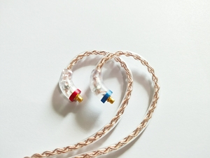 Image 3 - AUDIOSENSE 8 Strands 19 Core 6N  Single  Crystal Copper Headphone Upgrade MMCX Cable For T800 ,SE846,UE900,W80,XBA H3 etc