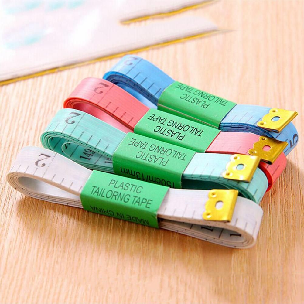 Body Measuring Ruler 59.06 In/ 1.5 M Color Body Measuring Ruler Tape With Iron Sheet Random Delivery #BW