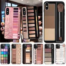 PENGHUWAN Naked Palette Fashion Glam Makeup Phone Case cover Shell for iPhone11 pro XS MAX 8 7 6 6S Plus X 5S SE XR case